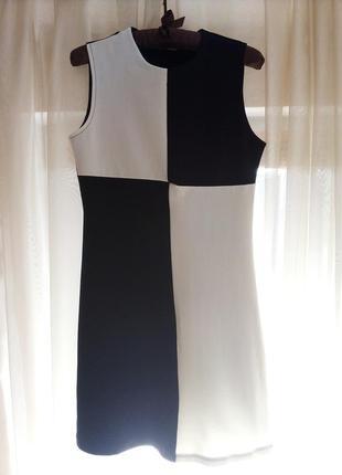 #розвантажуюсь. черно-белое платье мини)