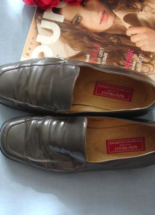 Женские туфли классические размер 37 р 4 стелька 23,5 см серые...