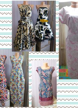 Летние женские платья 46-50 размеров