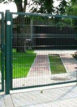 Секционный забор. Заграда. 3D панели