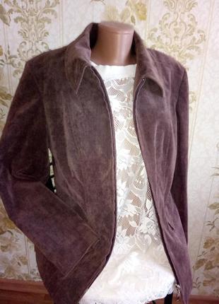 Распродажа!!!красивая куртка - пиджак вельветовая
