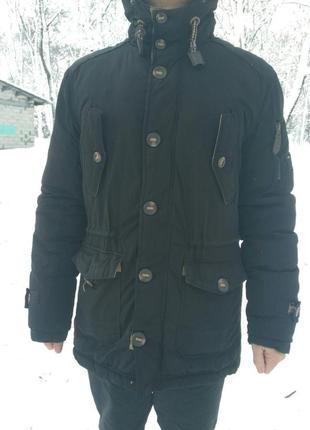 Пальто мужское, пуховик, фирменное bosline, качественное, легк...