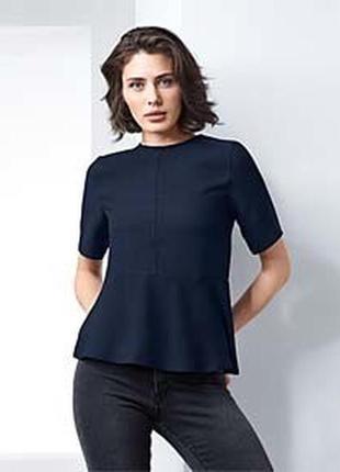 Стильная блузка от тсм tchibo (германия) размер евро 40 l