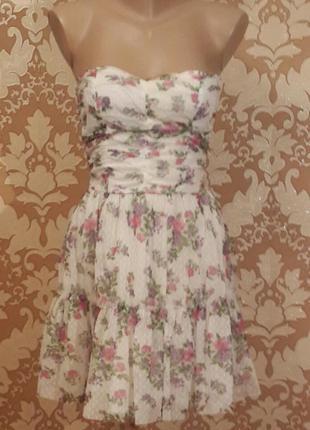 Элегантное нарядное платье. oodji. размер xs - s