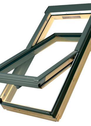 Вікно мансардне Optilight Польща 78*118 см.  Окно мансардное