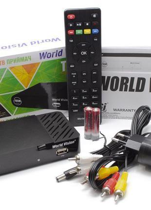 Ресиверы DVB-T2 World Vision T65M