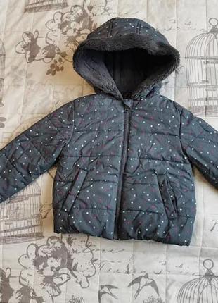Демисезонная куртка на девочку gymboree
