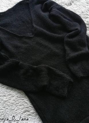 Шикарный свитер с кружевом