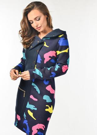 Женское платье спортивного стиля лейла синее