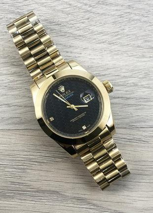 Часы Rolex Milgauss Gold-Black