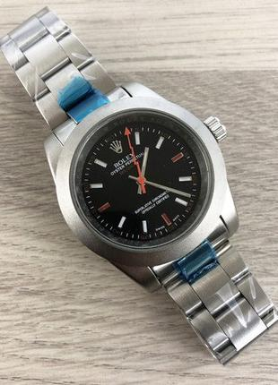 Часы Rolex Milgauss Silver-Black