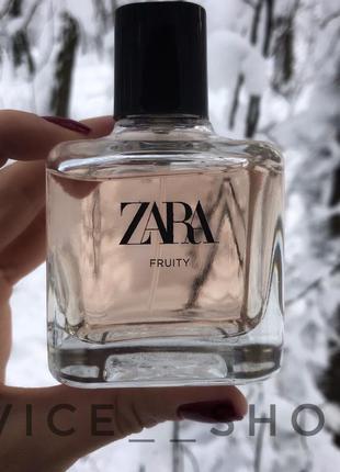 Zara fruty духи парфюмерия туалетная вода