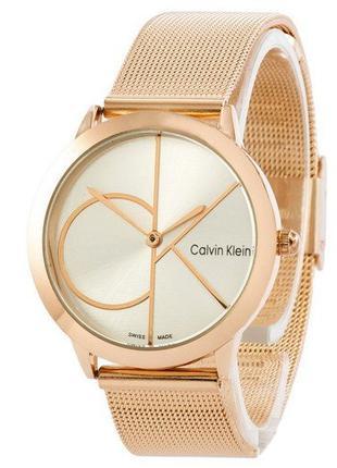 Часы Calvin Klein P18 Cuprum-Silver Big