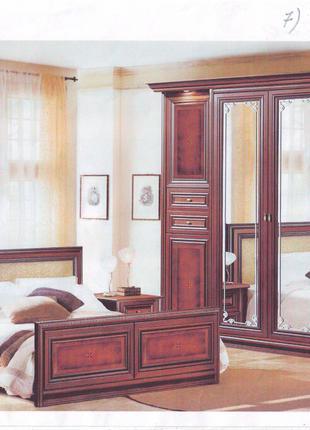 Комплект мебели спальня кровать тумбы шкаф комод зеркало Украина