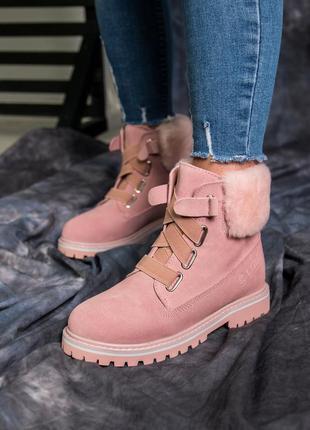 Шикарные натуральные угги ботинки ugg