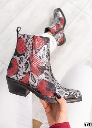 ❤ женские  весенние демисезонные кожаные ботинки сапоги казаки...