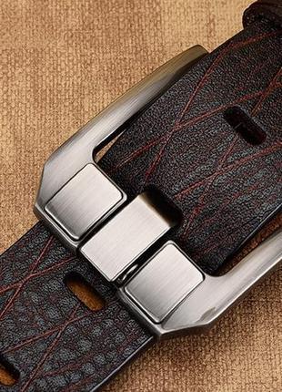 Ремень пояс мужской из натуральной кожи  в подарочной упаковке