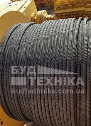 Стальной канат диаметр 16 мм, стальной трос из Германии