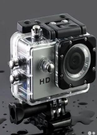 Экшн камера A7 FullHD + аквабокс + Регистратор Полный компект