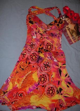 Сукня на літо жіноча размер 44-46 / 10 женское летнее платье м...