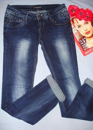Джинсы джинси женские молодежные размер 44 стрейчевые модные к...