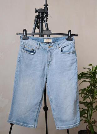 Удлиненные шорты бриджи f&f