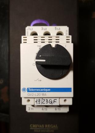 Автоматический выключатель двигателя Telemecanique(Schneider)18А