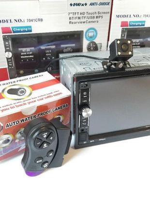 "Автомагнитола 2Din Pioneer 7041CRB 7"" Экран, Bluetooth,Пульт+К..."