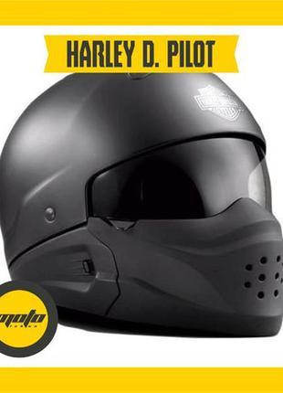 Мотошлем Harley Davidson Pilot 3-in-1 X04 мото шлем