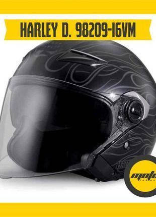 Мотошлем Harley-Davidson Splendor Sun Shield M01 3/4 98209-16VM