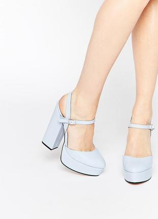 Босоножки с открытой пяткой туфли асос asos