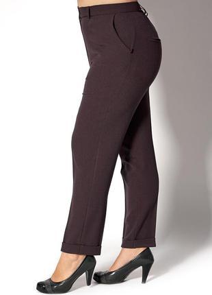 Женские классические брюки батал 4151