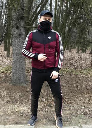 Мужской Спортивный Костюм Adidas Хит Продаж В Наличии