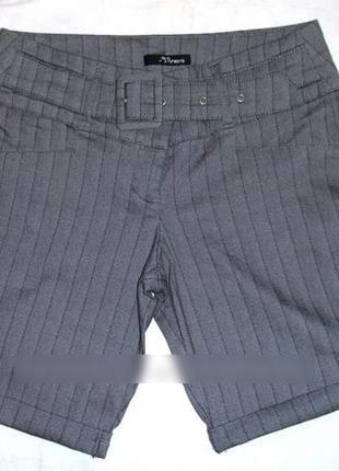 Шорты размер 42 jane norman серые стрейчевые женские короткие ...