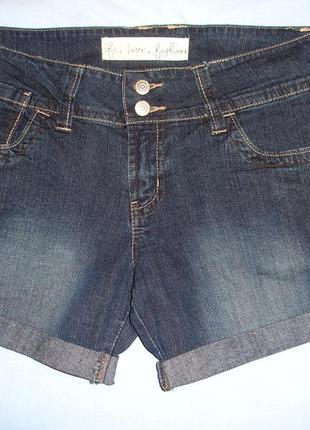 Женские шорты джинсовые размер 44 / 10 s-м короткие супер модн...