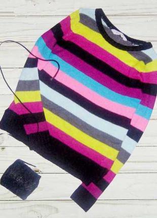 Обалденный свитер , принт полоска