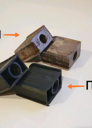 Заглушки металлические для крестовины компьютерного кресла 10мм.