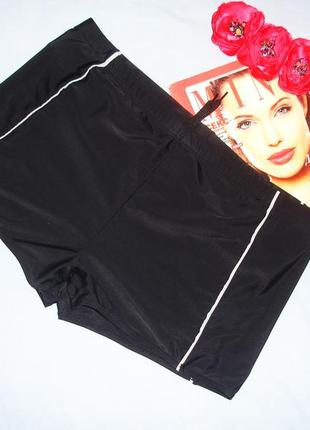 Черные мужские плавки шорты размер 52-54 для купания плавания ...