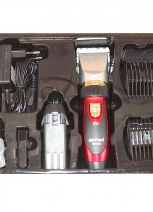 Распродажа! Машинка для стрижки волос Gemei + аккумулятор