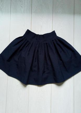 Темно-синяя юбка от дизайнера lipinskaya brand