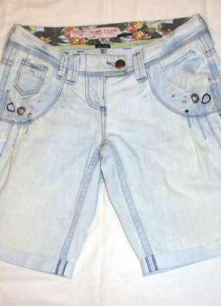 Шорты женские размер 40-42 светлые тонкие джинсовые летние riv...