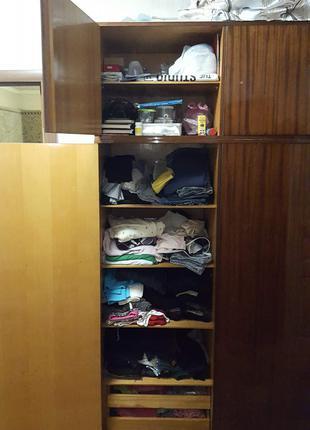Классный вместительный шкаф для одежды: бельевой, платяной гардер