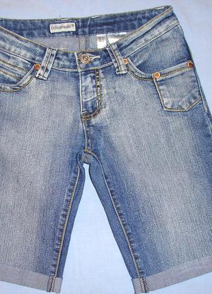 Женские шорты clockhouse размер 40-42 s xs джинсовые стрейчевы...