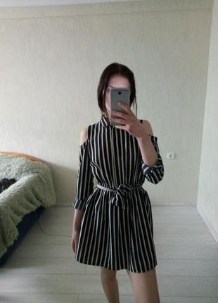 Платье в полоску new look 😍