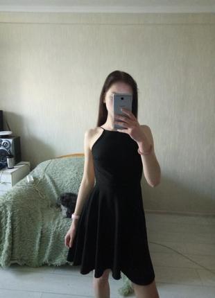 Платье с открытой спиной boohoo🖤