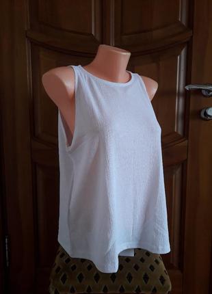 Белый топ, блуза mango,  р. xl