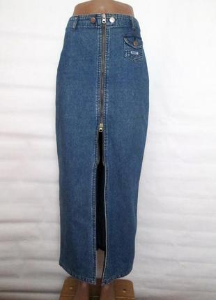 Юбка джинсовая , джинс