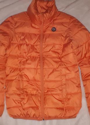 Теплая дутая куртка