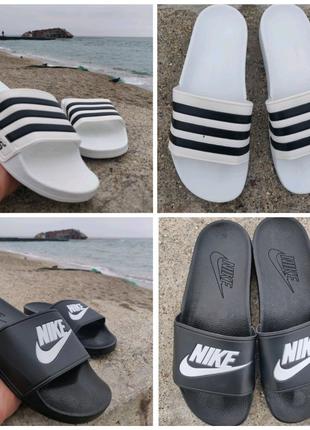 Тапки , Шлепки , Сланцы. Nike/Adidas