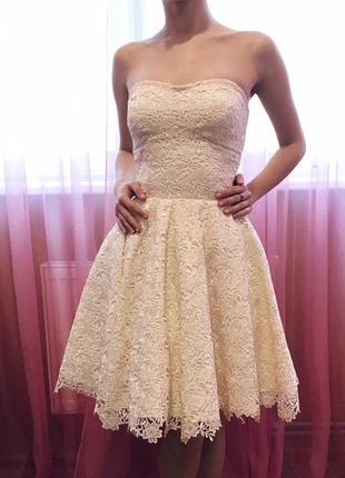 Платье нарядное, выпускное+болеро